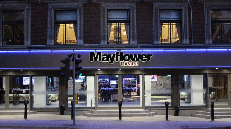 Mayflower Theatre, Mayflower, Theatre, Southampton
